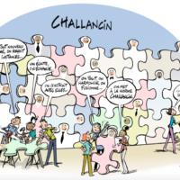 Challancin, World Champion of dialogue social