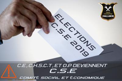 Élections du C.S.E 2019 : ON VOUS EXPLIQUE TOUT