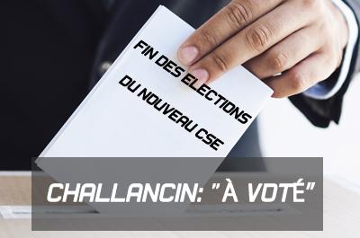 Fin des élections : le nouveau paysage syndical à Challancin