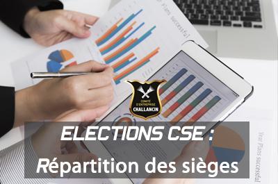 Elections  CSE 2019: Répartition des sièges et résultats